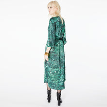 Load image into Gallery viewer, Harry Malachite Midi Shirt Dress