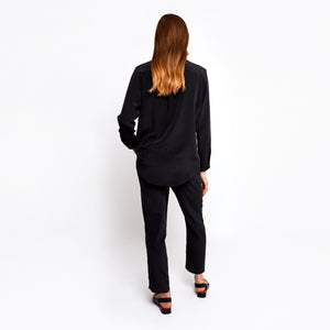 Smith black boyfriend shirt
