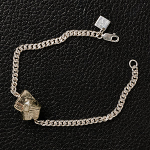 The Raw One Shiny Pyrite Bracelet