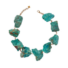 Load image into Gallery viewer, Not a Pearl Necklace Chrysocolla