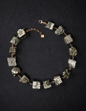 Load image into Gallery viewer, Not A Pearl Necklace Pyrite