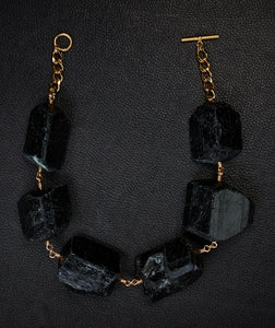 Not a Pearl Necklace XXL Black Tourmaline