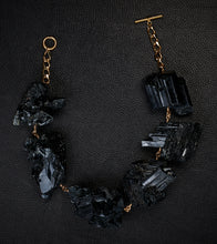 Load image into Gallery viewer, Not a Pearl Necklace XXL Black Tourmaline Crystal