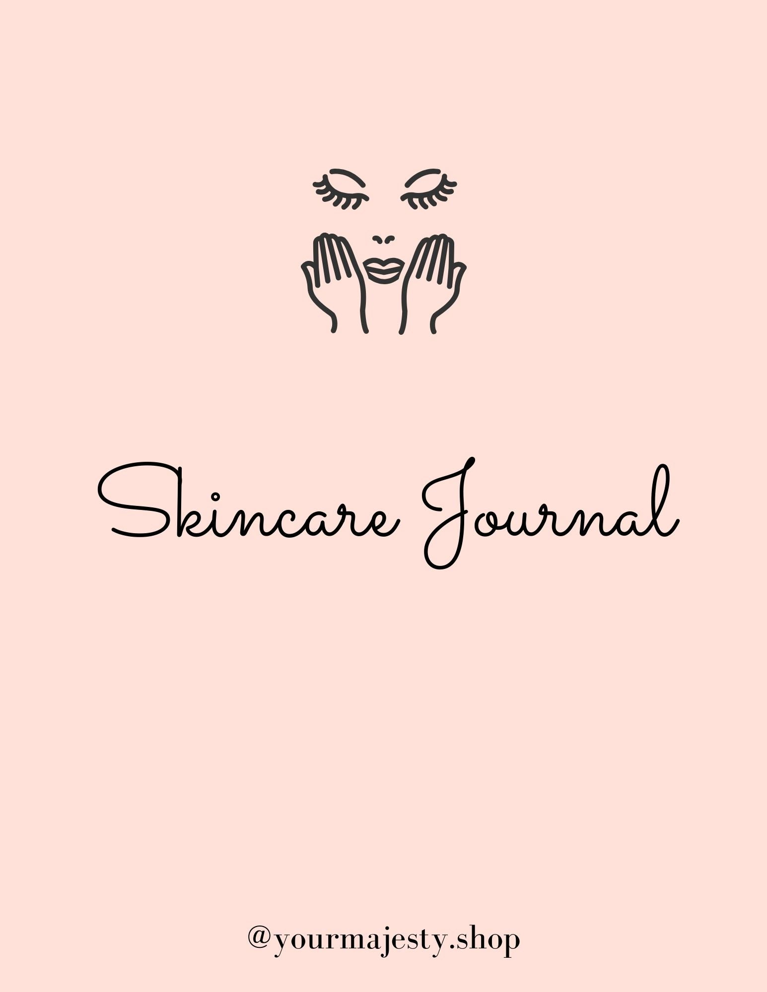 Majesty Skincare Routine Journal [FREE DOWNLOAD]