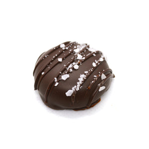 4 Pack Dipped Caramels - Almond