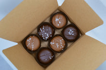 Load image into Gallery viewer, 6 Pack Dipped Caramels - Best Box