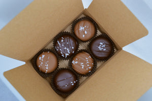 6 Pack Dipped Caramels - Best Box
