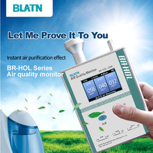 Load image into Gallery viewer, BLATN BR-HOL-1209 PM1.0 Particle Counters PM10 PM2.5 Air Pollution Detector - blatn shop
