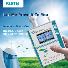 Load image into Gallery viewer, BLATN BR-HOL-1210 Formaldehyd PM1.0 PM2.5 PM10 air quality monitor - blatn shop