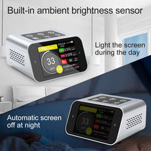 Load image into Gallery viewer, BRWISSEN BR-A16 Air Quality Monitor Indoor Pollution Tester for PM1.0 PM2.5 PM10 Particulate Matter Fine Dust Meter TVOC VOCs HCHO Analyzer Formaldehyde Air Gas Detector Data Logger