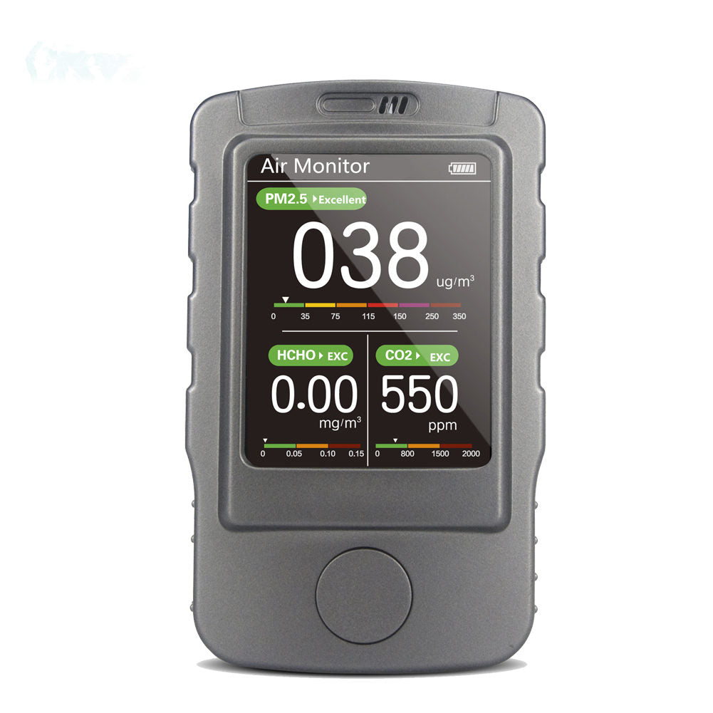 BLATN BR-V6 PM1.0 PM2.5 PM10 CO2 meter Formaldehyde Air Quality Analyzer - blatn shop