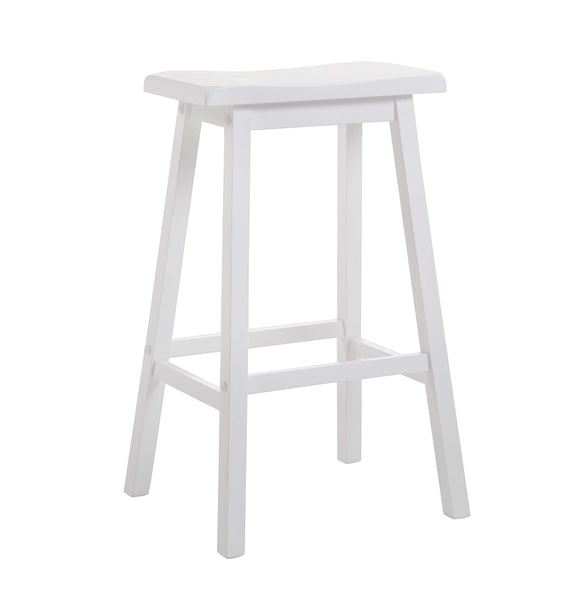 Gaucho White Bar Stool image