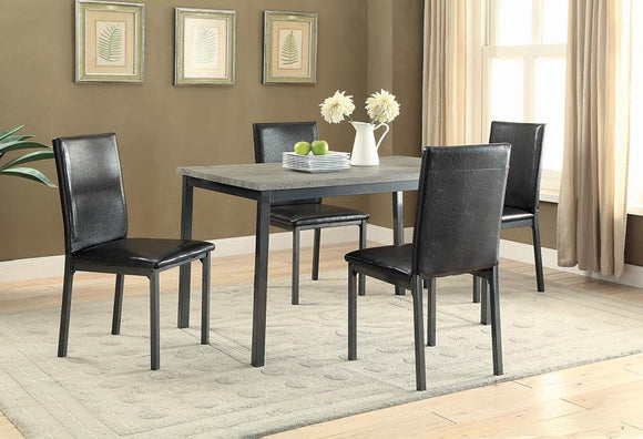 Garza Black Dining Table image