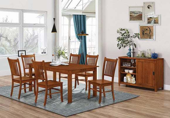 Morrisa Mission Dining Table image
