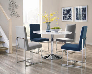 Jackson Modern Grey Dining Chair