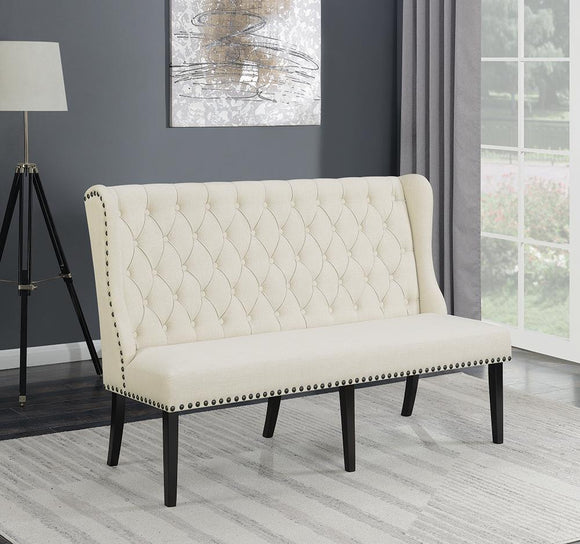 Mapleton European Traditional Cream Bench