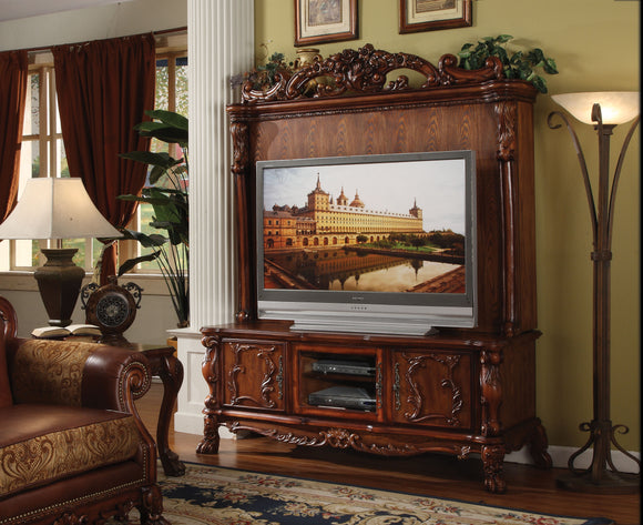 Dresden Cherry Oak Entertainment Center image