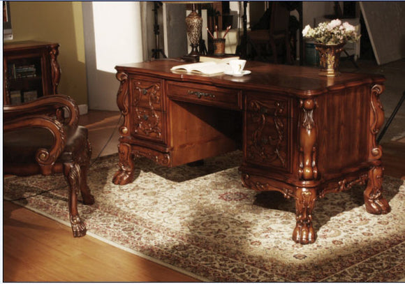 Dresden Cherry Oak Desk image
