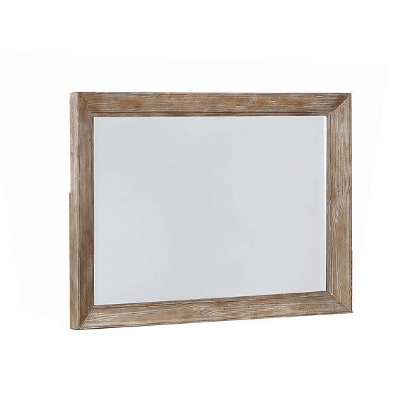 Meester Rustic Barn Door Mirror