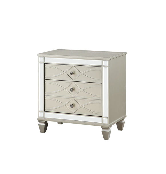 Marcellus Silver Nightstand image