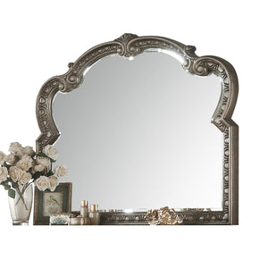 Northville Antique Silver Mirror image