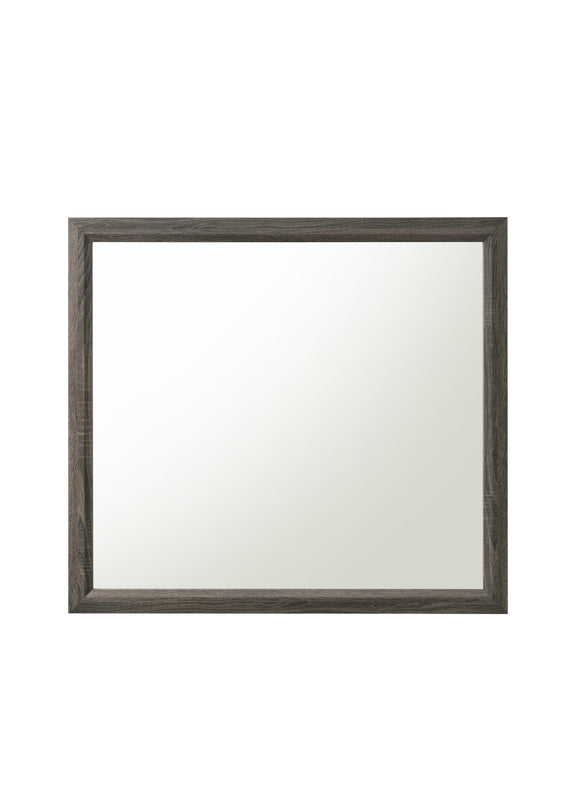 Valdemar Weathered Gray Mirror image