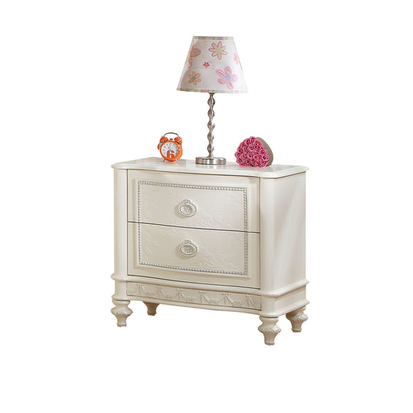Dorothy Ivory Nightstand (2 DRAWERS) image