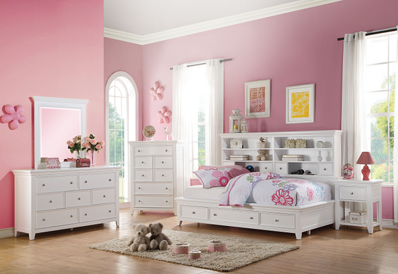 Lacey White Daybed (Twin Size) image
