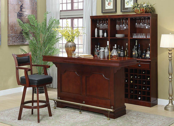 Traditional Cherry Bar Unit