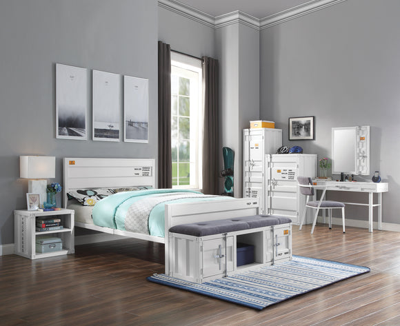 Cargo White Full Bed image