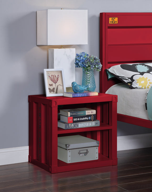 Cargo Red Nightstand (USB) image