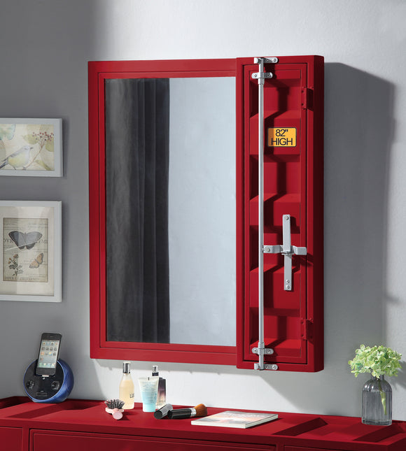 Cargo Red Vanity Mirror image