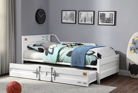 Cargo White Daybed & Trundle (Twin Size) image