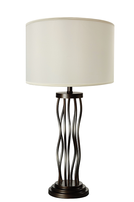 Jared Antique Bronze Table Lamp image