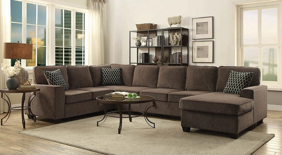 Provence Transitional Brown Sectional image