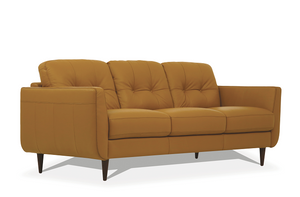 Radwan Camel Leather Sofa image