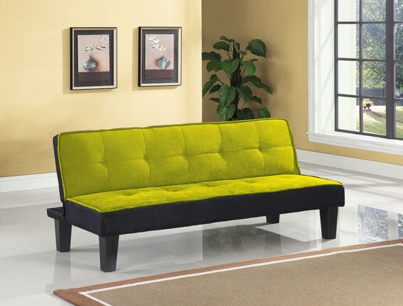Hamar Green Flannel Fabric Adjustable Sofa image