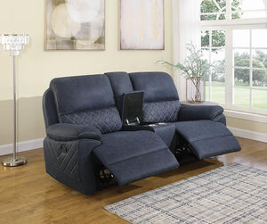 3pcs Motion Loveseat