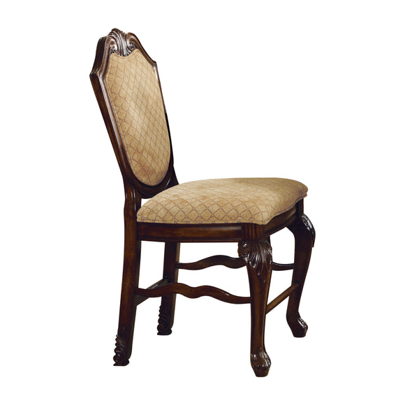 Chateau De Ville Fabric & Espresso Counter Height Chair image