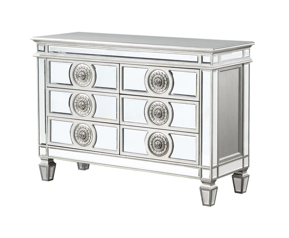 Varian Mirrored & Antique Platinum Server image