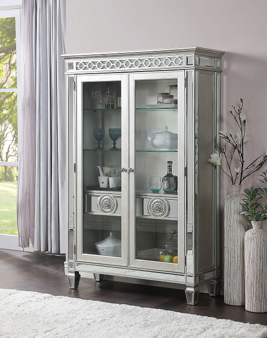 Varian Mirrored & Antique Platinum Curio image