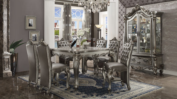 Versailles Antique Platinum Counter Height Table image