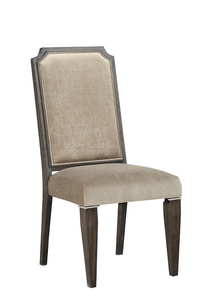 Peregrine Fabric & Walnut Side Chair image