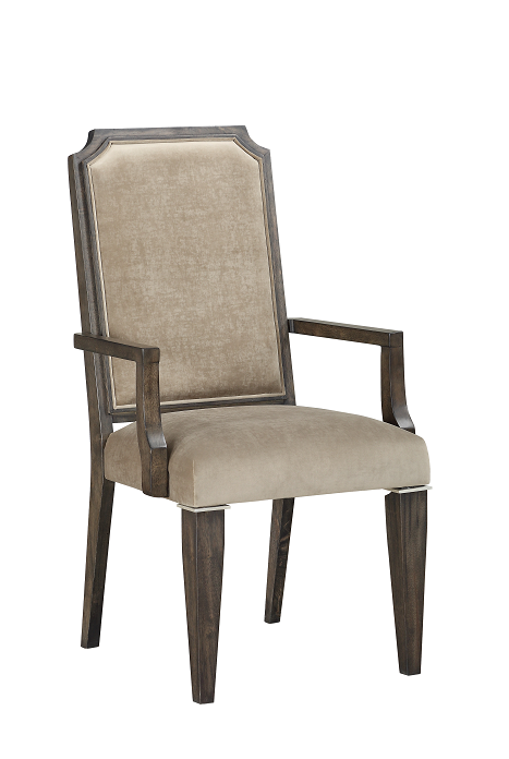 Peregrine Fabric & Walnut Arm Chair image