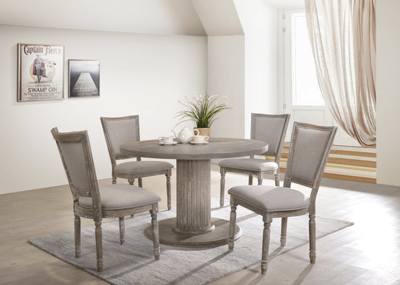 Gabrian Reclaimed Gray Dining Table image