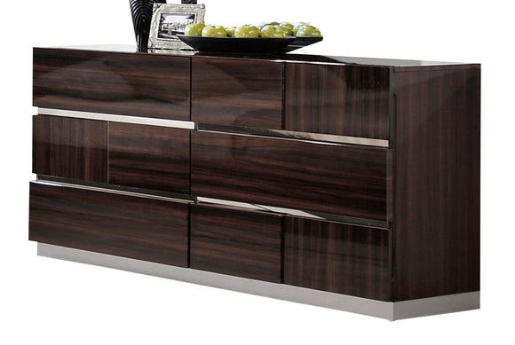 Global Furniture Tribeca Dresser in Wood Grain image