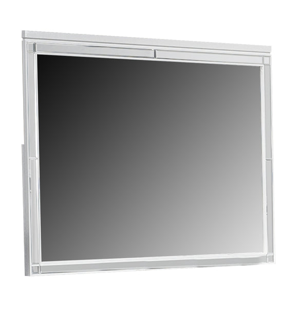 Global Furniture Catalina Mirror in Metallic White image