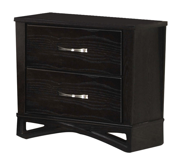 Global Furniture Fairmont 2 Drawer Nightstand in Dark Cappuccino image