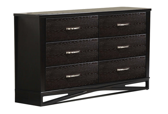Global Furniture Fairmont 6 Drawer Dresser in Dark Cappuccino image
