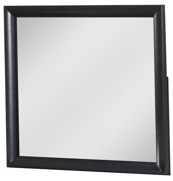 Global Furniture Linda Mirror in Black image